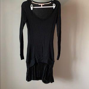 Victoria's Secret black sweater dress small